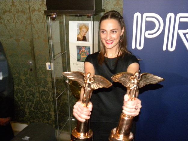 Dve Ceny Anděl má aj Barbora Poláková