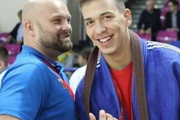 Lukáš Kurák (vpravo).