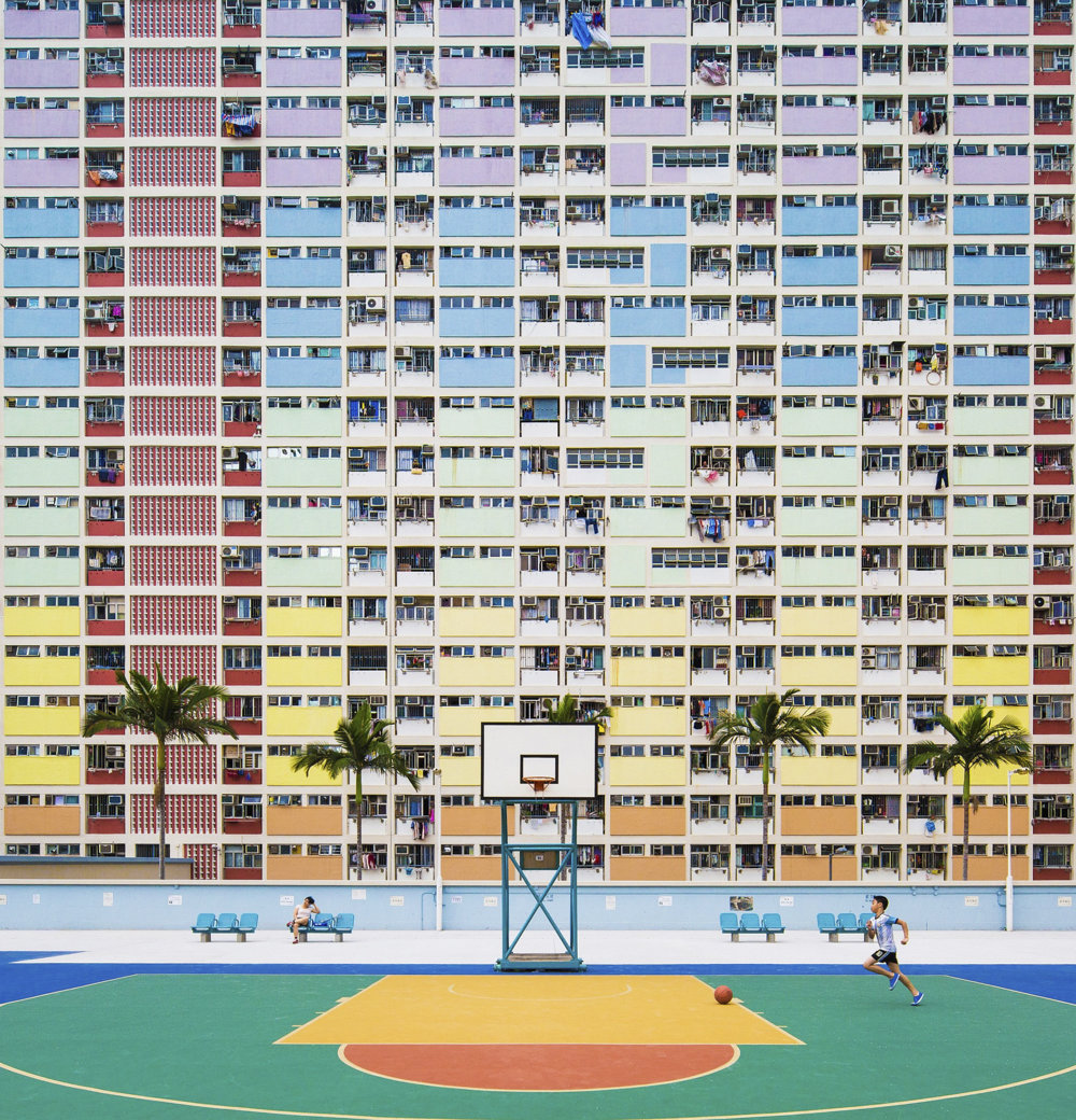 Detstvo v Hong Kongu.