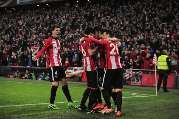 Futbalisti Athleticu Bilbao - ilustračná fotografia.