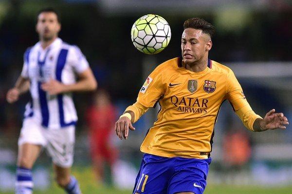 Neymar patrí medzi najväčšie hviezdy FC Barcelona.
