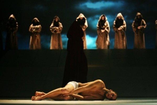 František z Assisi v Divadle Jonáša Záborského.