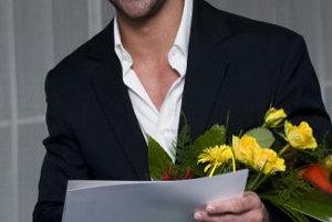 Talent roka 2007 herec Tomáš Maštalír na slávnostnom udeľovaní ocenenia 11. júna 2008 v Bratislave.