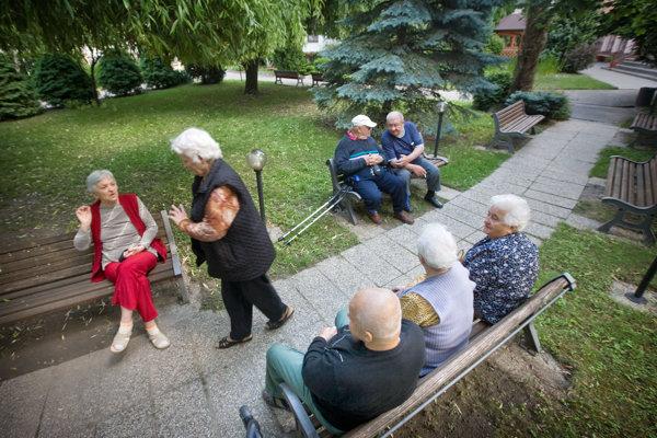 Aj po zvýšení úhrad bude prievidzské zariadenie pre seniorov stále najlacnejšie v okolí. Ilustračné foto.