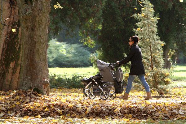 Vo verejnom priestranstve by mal vzniknúť priestor aj pre mamičky s deťmi.