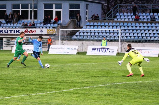 Márius Charizopulos po tejto situácii vyrovnal na 1:1.