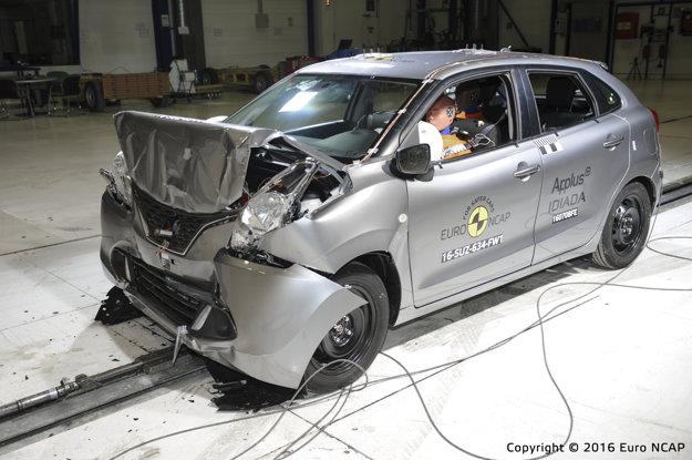 Suzuki Baleno crashtest Euro NCAP