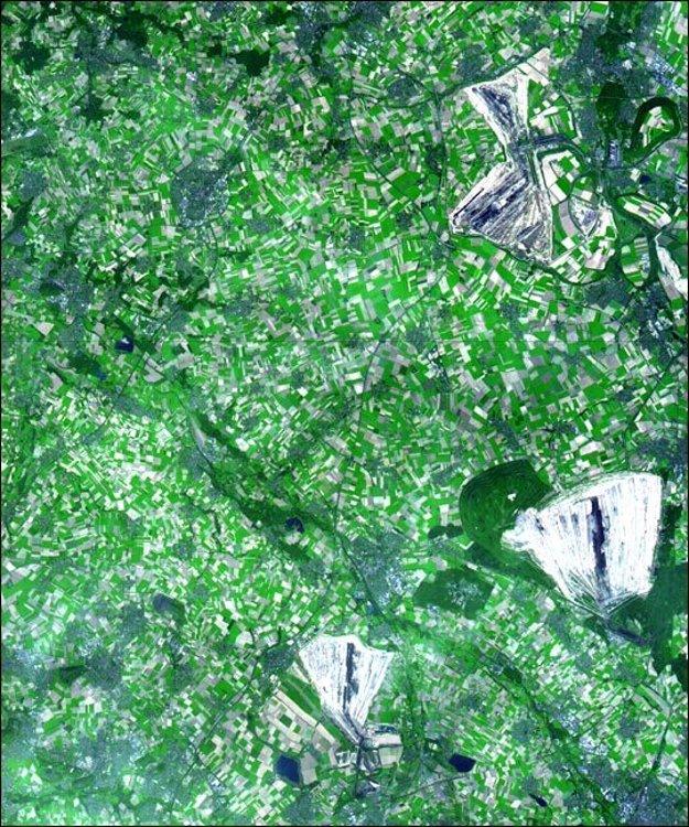 Uhoľné bane v nemeckom Severnom Porýní-Vestfálsku.