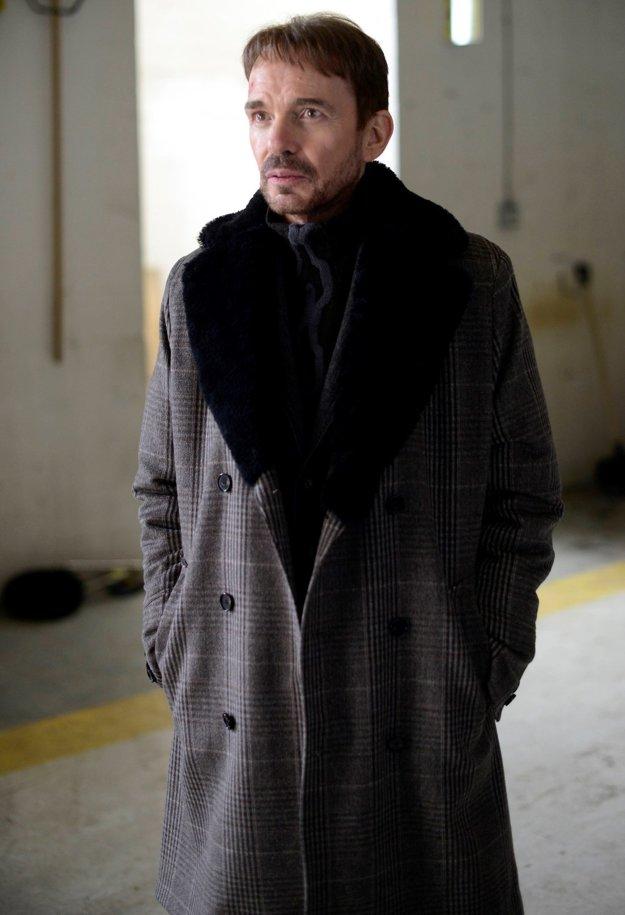Billy Bob Thornton ako nájomný vrah Lorne Malvo v seriáli Fargo.