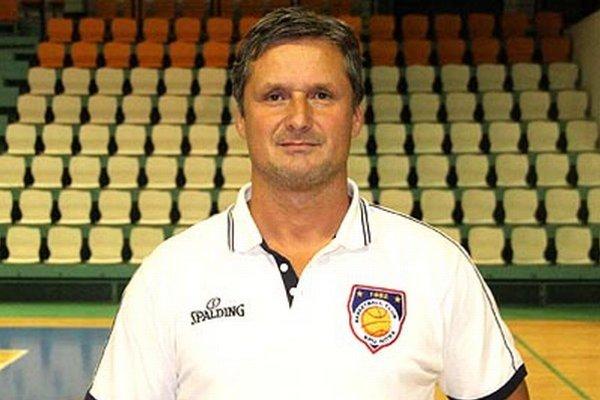 Prezident basketbalového klubu MBK SPU Nitra Stanislav Michalík.