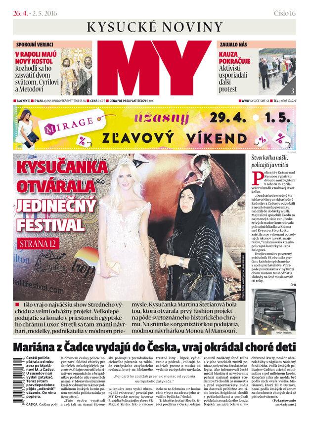 Nové číslo novín v predaji už zajtra.