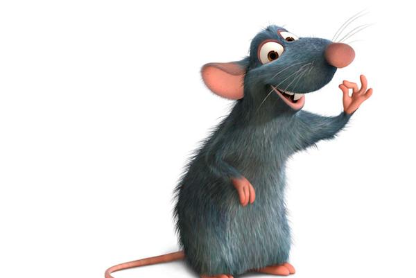 Postava z filmu Ratatouille.