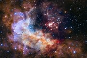 Vesmírna pavučina odhaľuje prepojenie jednotlivých galaxií.