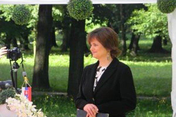 Silvia Hlôšková - na City feste získala ocenenie za svoju prácu.