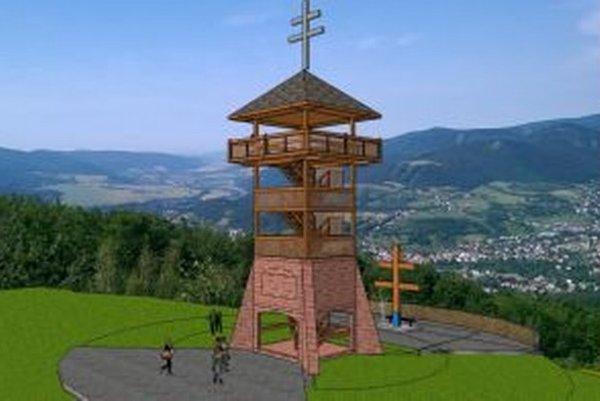 Kamenno-drevenú vežu začnú stavať až v budúcom roku.