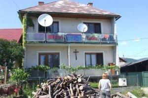 Farma sídliaca v Kosoríne. Martu Tužinskú sme doma nezastihli.