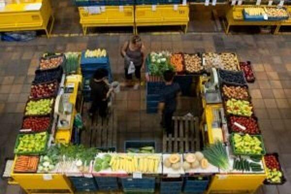 Trh v pasáži predstaví miestnych výrobcov potravín.