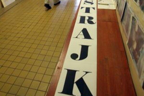 Účasť na štrajku avizuje 70 percent škôl a škôlok v Banskobystrickom kraji.