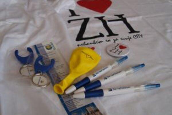 Pri návrhoch propagačných predmetov myslia v Žiari najmä na mladú generáciu.