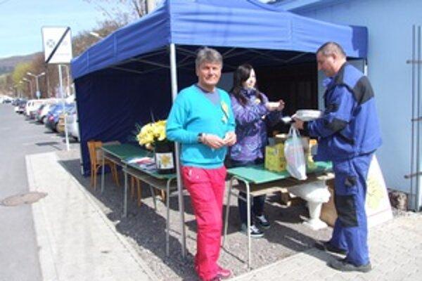 V centre Žarnovice. Počas Dňa narcisov tam dobrovoľníci vyzbierali cez 3-tisíc eur.