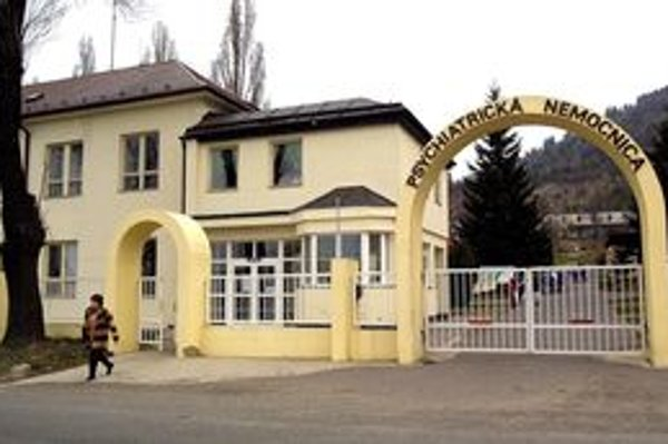 Psychiatrická nemocnica podľa jej riaditeľa dlhuje najmä za plyn, potraviny a lieky.
