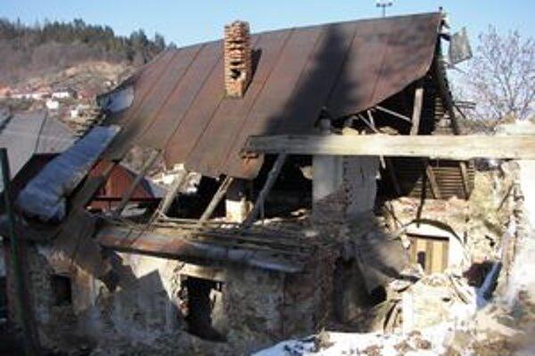 Dom na Dolnej Resle. Jeho rekonštrukcia by stála 600-tisíc eur.