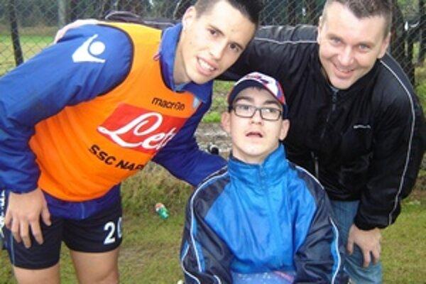 V Neapole sa Žiarčania stretli so slovenskou futbalovou hviezdou.