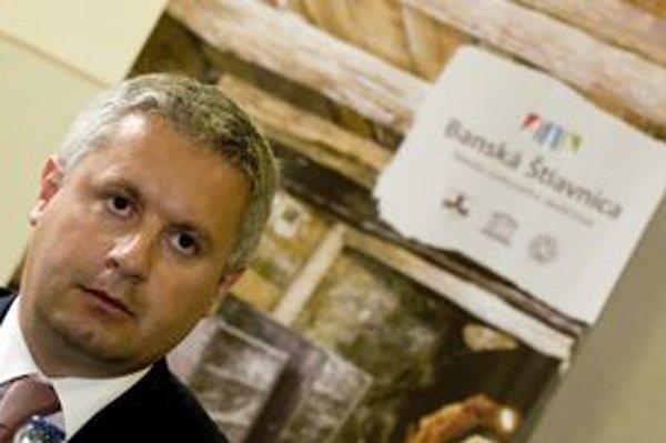 Banskoštiavnický primátor Pavol Balžanka.