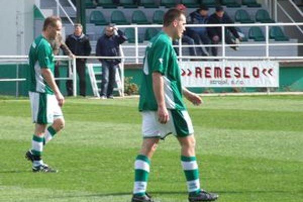 Michal Páleník (vpravo), strelec dvoch dôležitých gólov.