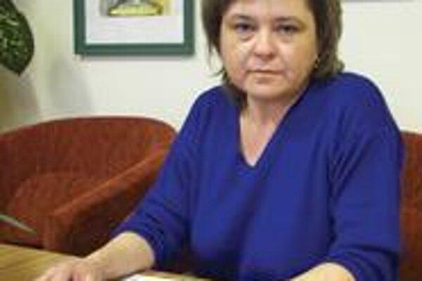 Riaditeľka ZŠ Monika Dobrotová.