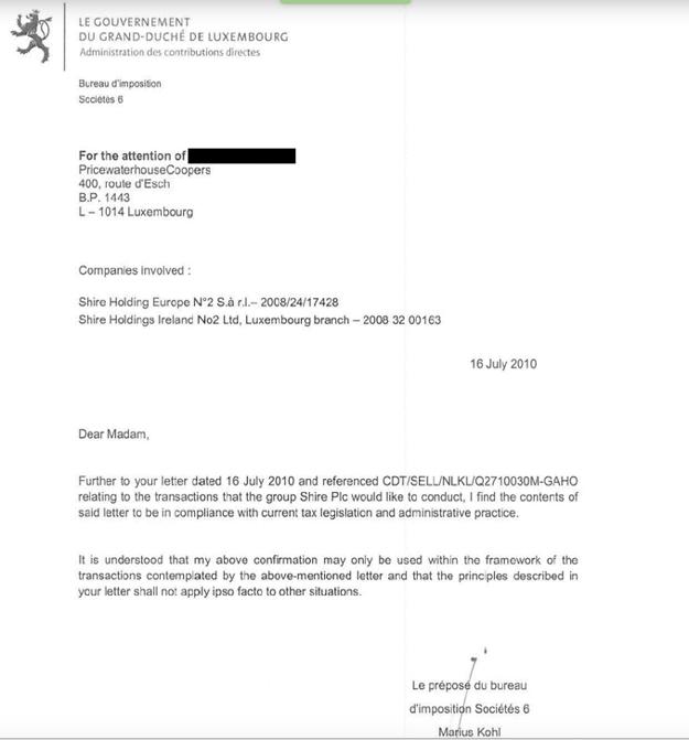 Jeden z uniknutých dokumentov podpísaný Mariusom Kohlom.