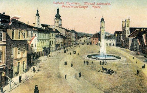 Pohľadnica z roku 1895