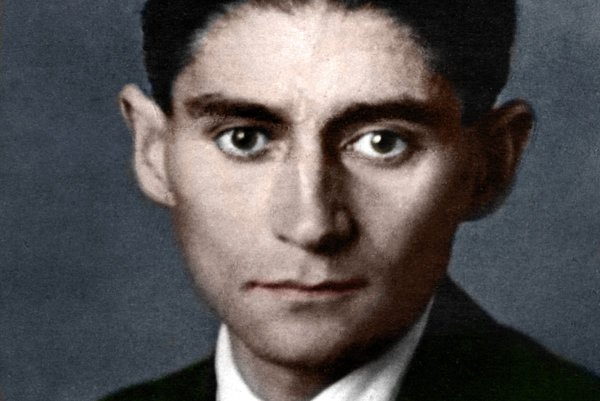 Franz Kafka (1883 - 1923).