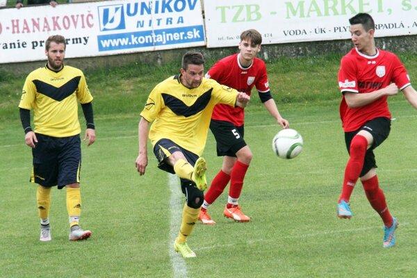 Na Čermáni brali všetky tri body futbalisti Horných Obdokoviec.