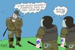 Polícia proti extrémistom (Sliacky) 3. máj