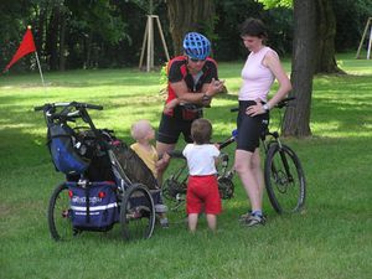 Cyklovozíky: Aktívne aj s malými deťmi