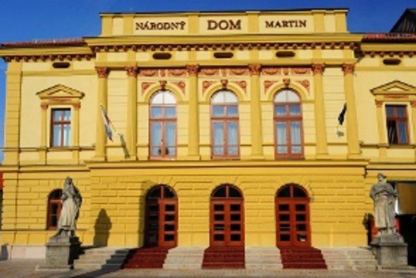 Názov pamiatky: Národný dom <br/>Adresa pamiatky: Divadelná 1, 036 01 Martin