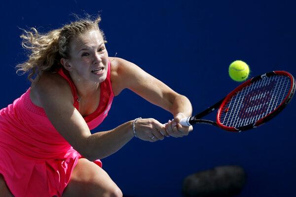 Do druhého kola prešla aj Kateřina Siniaková.
