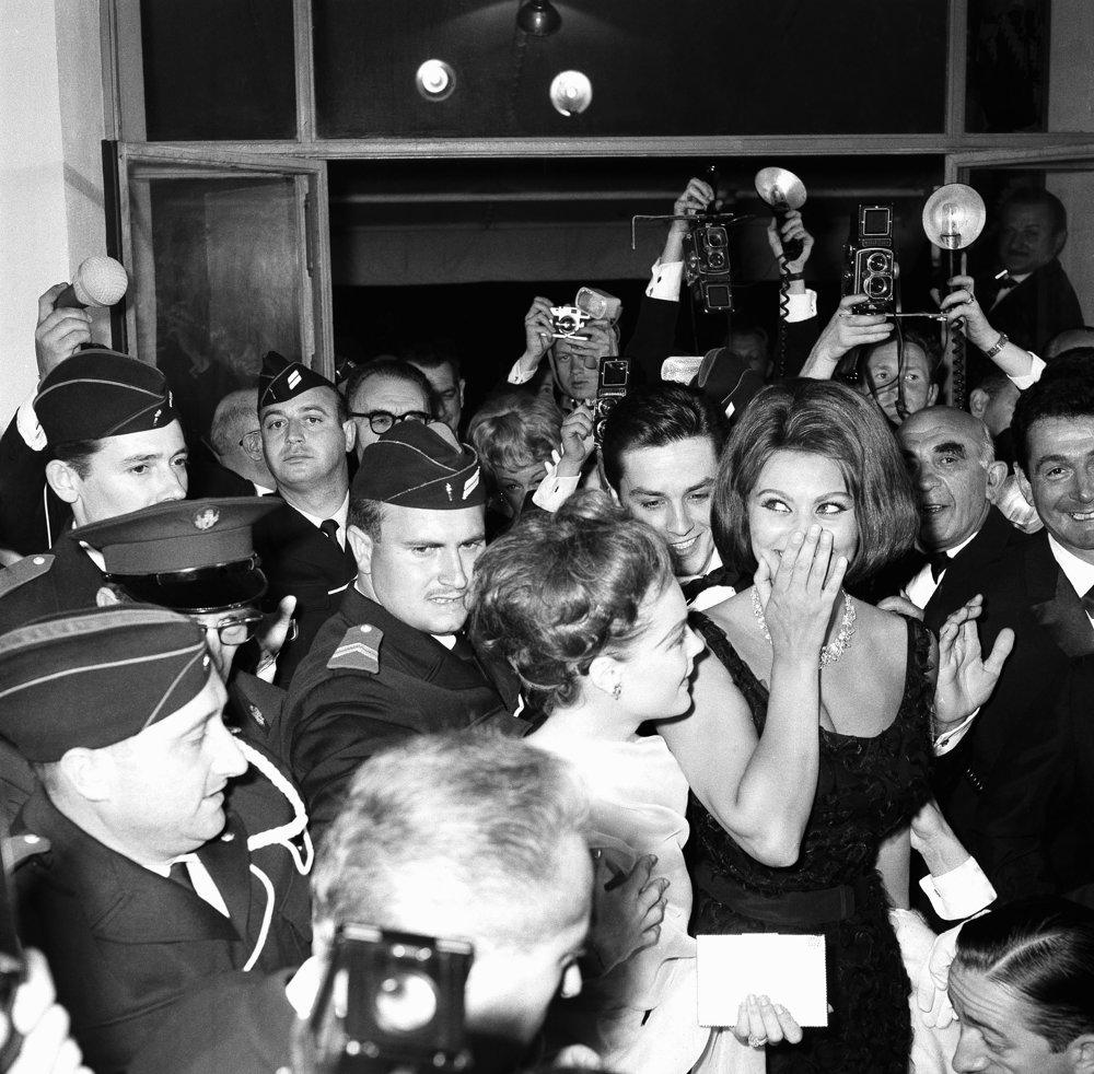 Sophia Lorenová na festivale v roku 1962.