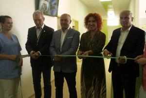Slávnostné otvorenie nového onkologického oddelenia