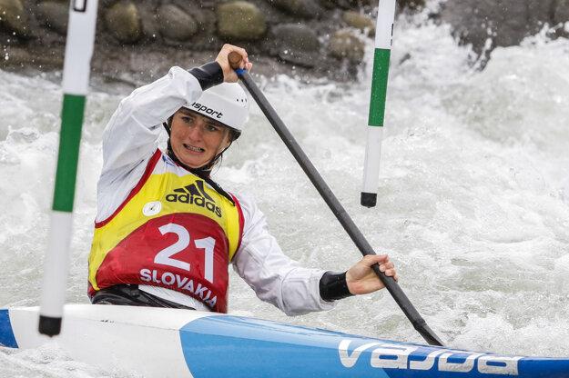 Simona Maceková postúpila ako zatiaľ jediná zo Sloveniek.