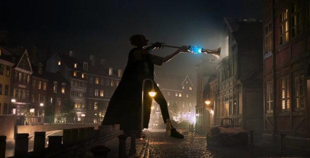 Film kombinuje rozprávkový svet s moderným Londýnom.
