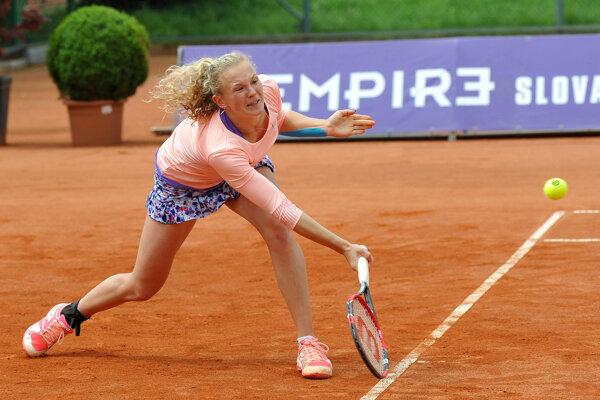 V Trnave triumfovala Kateřina Siniaková.