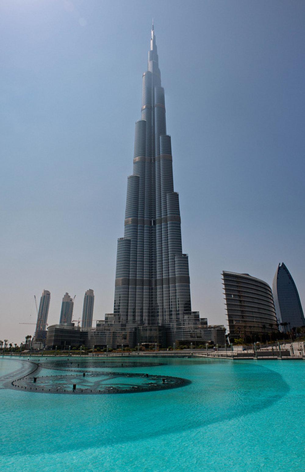 Burdž Chalífa, Dubaj.