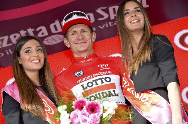 André Greipel sa už predtým radoval z dvoch etapových víťazstiev, vo štvrtok vybojoval tretie.
