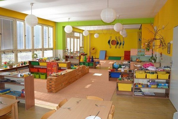 Vynovené priestory škôlky.