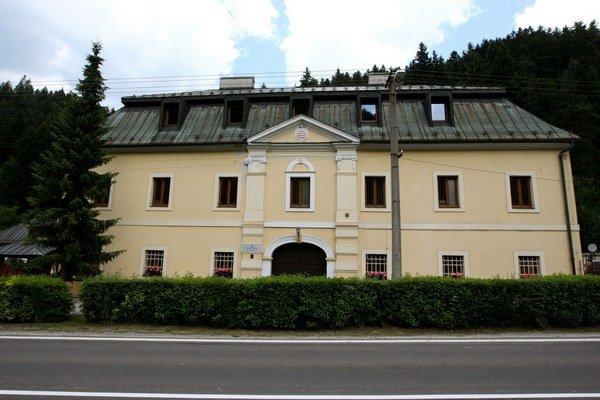 Budova, kde sídlila poštová prepriahacia stanica.