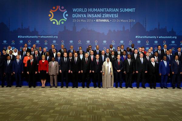 Kiska sa zúčastnil na Svetovom humanitárnom summite.