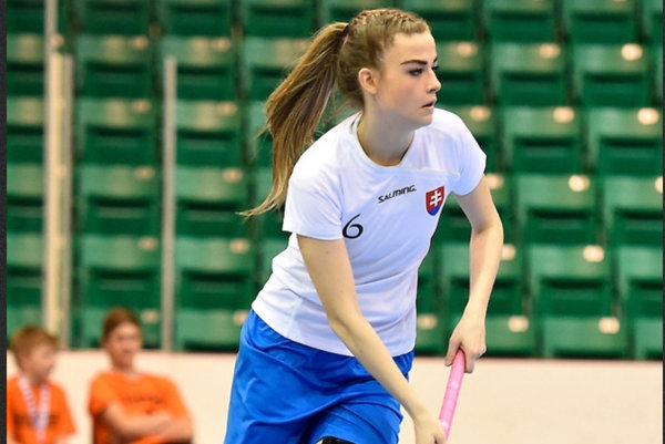Alexandra Kocúrová v akcii.