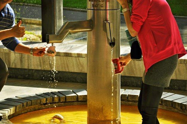 Známe kúpeľné mesto vzniklo pri termálnom prameni, kde kráľ Karol IV. podľa legendy skolil jeleňa.